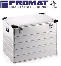 PROMAT 240 L Aluminiumbox L 782 x B 585 x H 620 mm mit Klappverschluss