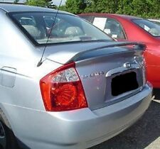 PRE-PAINTED FOR KIA SPECTRA 4DR 2005 2006 2007 2008 2009  SPOILER W/LED WING NEW
