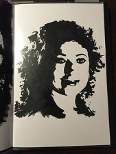 DOCTOR WHO RIVER SONG Alex Kingston Painting Portrait Art by Chris McJunkin