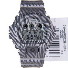 Casio G-Shock Grey Zebra Edition, DW-6900ZB-8ER, Stopwatch, Auto Calendar, Light