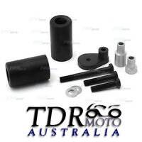 Black knobs Frame Slider Protector For 2001 2002 2003 Suzuki Gsx-R Gsxr 600 750