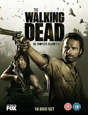 The Walking Dead The Complete Season 1, 2, 3 & 4 DVD Box Set 1 - 4 New & Sealed