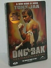ONG BAK The Thai Warrior Limited Edition Steel Packaging DVD Region 1 NEW