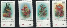 Nevis SC503-506 Coral-FireCoral-ElkhornCoral-CoralFeatherStar MNH 1986