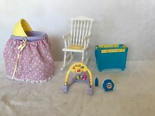 Pregnant Barbie Midge Doll Happy Family Baby Nikki's Ryan Smart House Nursery .