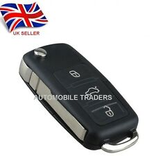 FOR VW 3 Button Remote Key Case with BLADE Golf Bora Jetta Passat Polo +logo A61