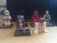 Lego Star Wars Planet Set Minifigs Lobot Bespin Sebulba R4-p17 clone trooper