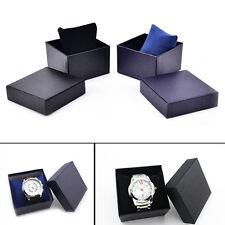 PU + papel de almacenamiento reloj caja de regalo de madera reloj de pulssta