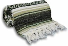 New Molina Indian Authentic Traditional Mexican Throw Yoga Mat Blanket