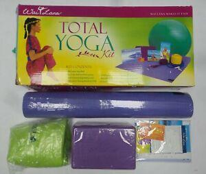 Wai Lana Productions 409 Total Yoga Kit with Mat and Yoga Ball