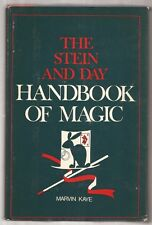THE STEIN AND DAY HANDBOOK OF MAGIC by Marvin Kaye 1973