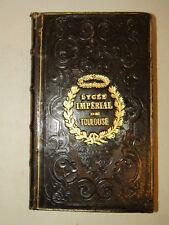 LIBRO PREMIO - BRYDONE: Voyage SICILIE et MALTE 1860 Antiporta Legatura FRANCIA