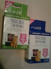 catit cartridge pack and catit refill pads