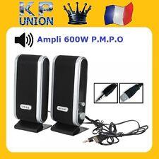 ENCEINTE HAUT PARLEUR SPEAKER MULTIMEDIA USB AC 120W ORDINATEUR PC AVEC AMPLI