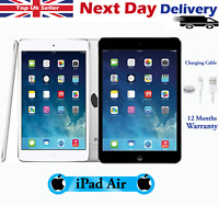 Apple iPad Air 16GB 32GB 64GB WiFi, Cellular 9.7-inch Retina All Colours Grades