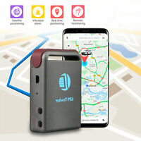 New Magnetic Mini Car Spy Vehicle Realtime GPS GSM GPRS Tracker Locator Tracking