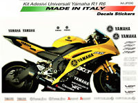 Kit adesivi universali Yamaha R1/R6 neri