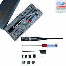 3 batteries NEW Red Laser BoreSighter Bore Sight kit for .22 to .50 Caliber FAIT