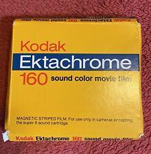 Kodak Ektachrome 160 Color Sound Movie Film Expired 1980 Vintage
