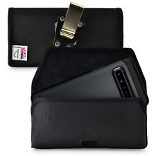 Samsung Galaxy S10 5G Belt Holster Nylon Pouch with Rotating Clip, Horizontal