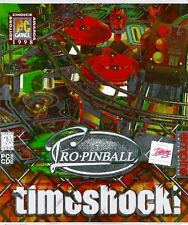 Pro Pinball Timeshock PC New Sealed