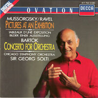CD Mussorgsky Ravel Bartók Pictures at an Exhibition Concerto for Orchestra