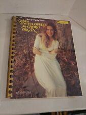 Music Book Golden Encyclopedia for Chord Organ Best of Pop Charles Hansen ©1973