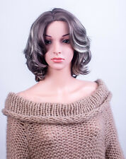 Ladies Forever Young Grey Silver Blend Short Tousled Wig Full Wig UK Wigs
