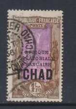 Chad - SG 46 - g/u - 1933 - 1f 75 - chololate and magenta - overprinted