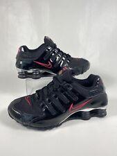 Nike Shox Women NZ Black Pink Silver Chrome Cancer Shoe 8.5 325200-060 Running