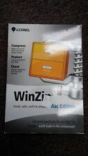 Corel WinZip MAC Edition En Mini-Box Software NEW SEALED