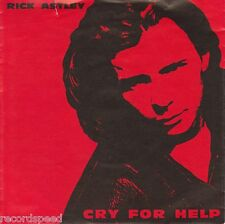 "★★ 7"" - RICK ASTLEY - Cry For Help - Behind The Smile"