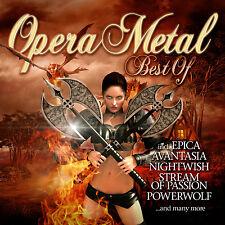 CD Opera Metal Best Of de Varios Artistas CD con Avantasia y Nightwish