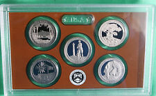 2013 US Mint Proof America the Beautiful Quarters 5 Coins ONLY ATB NO BOX