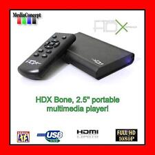 "HDX Bone 2.5"" Portable multimedia Network Media Player"
