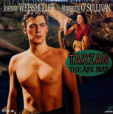 TARZAN THE APE MAN The Original Laserdisc LD NTSC