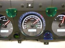 1970-1972 Chevelle SS El Camino Dakota Digital VHX Black/white metric KPH gauges