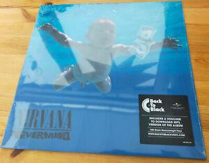 "NIRVANA ""Nevermind"" Back To Black 180g Vinyl LP ss"
