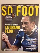 SO FOOT N°96 MAI 2012 EQUIPE DE FRANCE LE GRAND FLOU !