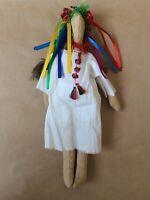 Dolls, traditional vintage stuffed cloth handmade Russian Folk Art