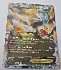 White Kyurem EX BW63 - Rev Holo Ultra Rare Pokemon Card - Black and White Promo