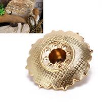 9holes lotus incense burner holder flower statue censer plate for sticks cone RS