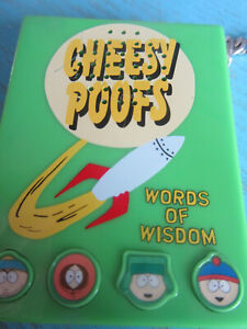 Vintage South Park Cheesy Poofs Words of Wisdom Voice Box 1998