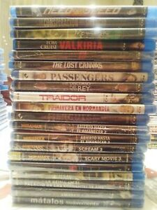 Peliculas Blu-Ray PRECINTADAS. Ediciones Españolas. Mas de 100 titulos a escojer