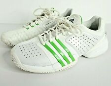 Adidas Womens Barricade 6.0 Adilibria Athletic Tennis Shoes Size 11 White Green