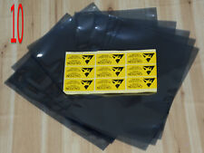 "10x ESD Anti Static Shielding Bags 9cm x 14.5cm 2.5"" hard disk"