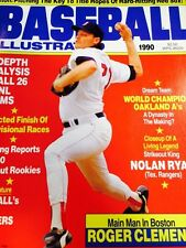 Boston Red Sox 3 Baseball Mags Roger Clemens Pitcher 1989 1990 1992