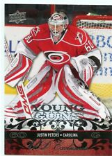 08-09 UPPER DECK YOUNG GUNS ROOKIE RC EXCLUSIVES JUSTIN PETERS 041/100 *45158
