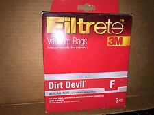 Filtrete Dirt Devil F Micro Allergen Vacuum Bag, 3 Pack