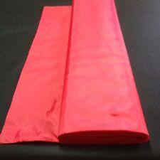 DOUBLURE polyester au mètre ROUGE  tissu fluide largeur 150 cm